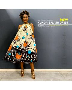 Kundai Splash Dress