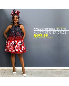 Kundai Choker Dress
