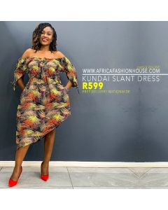 Kundai Slant Dress