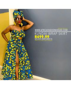 Kundai Wrap Skirt