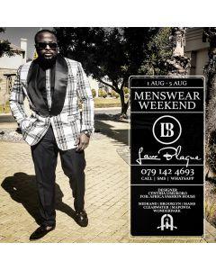 Law Blaque Dash Suit