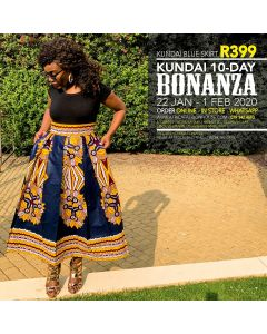 Kundai Blue Skirt