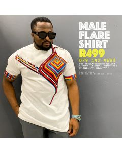 Male Flare Shirt
