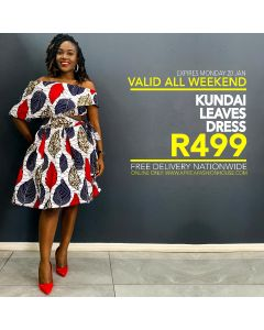 Kundai Leaves Dress