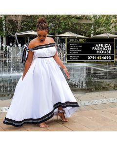 Relo Trad Dress White