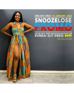 Kundai Slit Dress